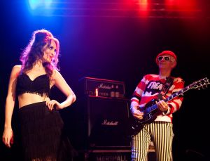 The Damned, go-go dancer, Metro Theatre, Sydney, 21/1/2012
