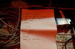 Sol set-list, Solid Gold Hell, Marrickville Road Cafe, June 2012